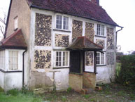 Grade II Listed Property before restoration